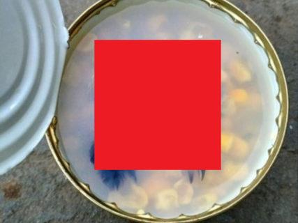 史上最強クラスの恐ろしさ。缶詰を開けたら「ありえないもの」が混入していた・・・(画像)