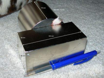 【閲覧注意】「世界最強の磁石」に挟まれた人間の指をご覧ください・・・(画像)