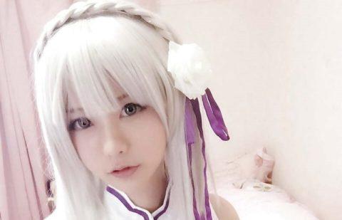 【画像】中国の超美少女コスプレイヤー、無修正のマ●コまで見せてしまう・・・(20枚)