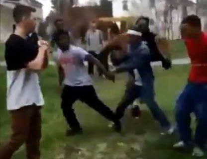 【動画】DQNにケンカを売られた陰キャさん、めちゃくちゃ強かった・・・・・
