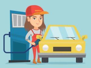 【閲覧注意】ガソリンスタンドに美人バイトがやってきた結果が恐ろしいと話題に(画像あり)