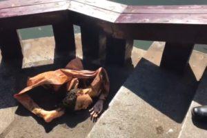 【衝撃】川にリアルなセックス人形捨てた結果wwwwww(動画あり)