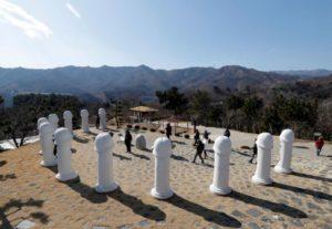 【画像】韓国の「セ○クス公園」、平昌オリンピックの影響でこうなる・・・