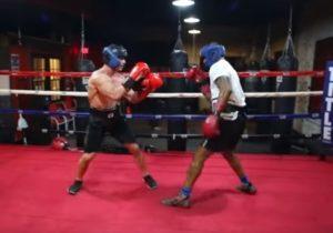 【衝撃映像】ボディビルダーがプロボクサーとガチで戦った結果・・・たった30秒で・・・