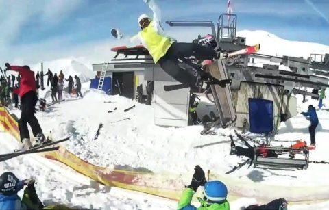 【超恐怖】スキー場でリフトが人を乗せたまま暴走した結果・・・・・(動画あり)