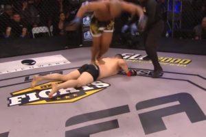 【狂気】格闘家、「この技」で90日間出場停止。相手を気絶させて勝ったのに速攻で失格