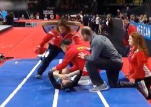 【閲覧注意】2日前の女子体操選手権でヤバい放送事故…(動画あり)