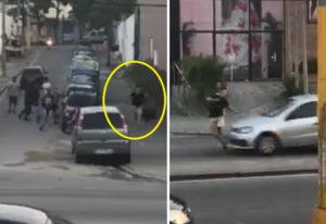 【悲報】いじめられっ子、いじめっ子から逃げようとして車に轢かれ重傷(動画あり)