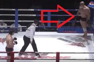 【衝撃映像】総合格闘技。19歳の少年がとんでもない化け物と戦わされた結果・・・・・