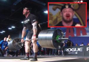 【衝撃映像】人間が426kgの重さを持ち上げた結果…こうなるらしい…(動画あり)