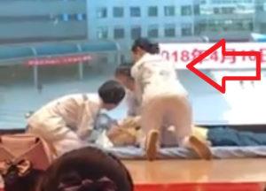 【動画あり】心臓マッサージ中の看護師さんがHすぎると話題にwwwwww