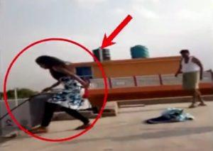 12歳の少女、父親からの虐待を避けるため飛び降り自殺。虐待中の父親の目の前で