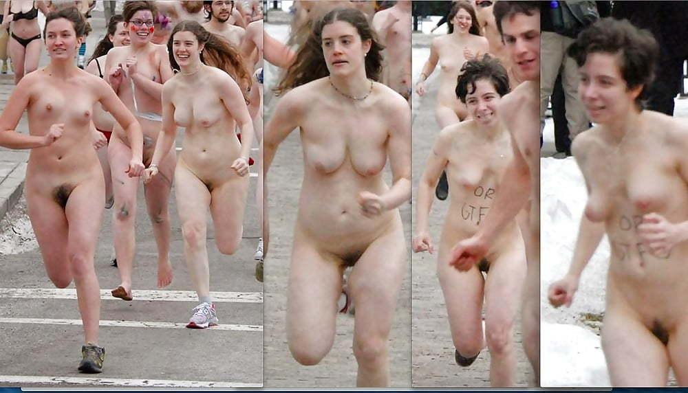 ハーバード 全裸 マラソン