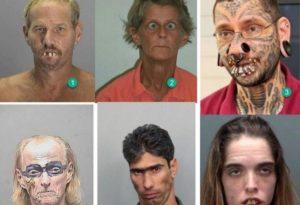 アメリカで逮捕された犯罪者たちの画像。マジでめちゃめちゃ怖いと話題に・・・