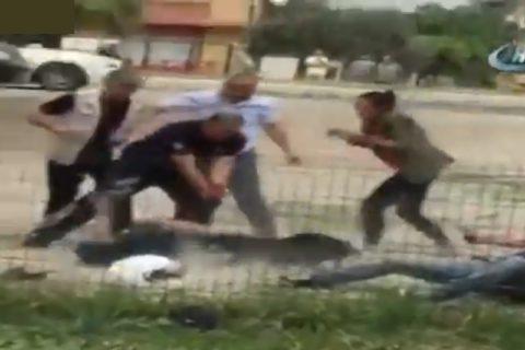"""【狂気】今騒がれてる """"世界最狂の犬"""" 、大人7人がかりで銃を持ったとしてもこれだぞ…(動画)"""
