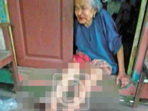【閲覧注意】クズニート、お金をくれないおばあちゃんを「こうして」しまう…(画像あり)