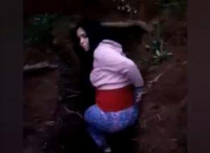 【閲覧注意】山の中で。若い女「やめて…お願い…」 ⇒ パン!パン!(動画あり)