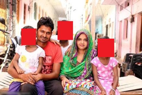 【恐怖】3人の娘を産んだ。3人とも、病気でこんな顔になった(画像)