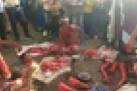 【超!閲覧注意】闇市場「人肉マーケット」の様子が流出。世界の常識がひっくり返る恐怖映像
