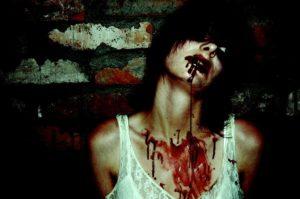 【閲覧注意】シャブでキマった女の子。自らを拷問してしまいこうなる・・・(画像あり)