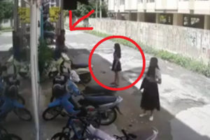 【衝撃】女子高生さん、校内に侵入してきた男にとんでもない事をされる…