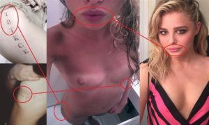 【GIF】あの人気女優(21)、おっぱいが大きくなり過ぎて乳首が透けてしまうwwwww