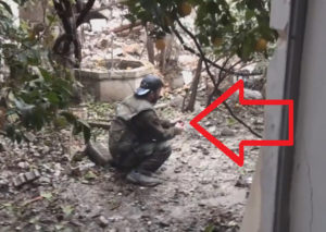 【閲覧注意】戦闘のプロ集団、自分で作った手榴弾が誤爆しこうなる(動画)