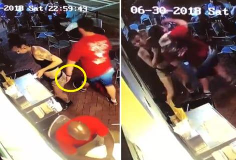 【動画】バーで女店員にセクハラした男 ⇒ 女店員が強すぎた結果wwwww