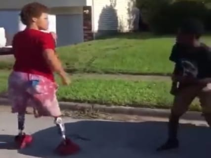 """【超驚愕】""""両足がない"""" ヤンキー高校生の喧嘩映像、マジで凄すぎる・・・(動画あり)"""