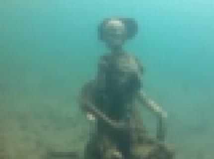 【閲覧注意】ダイバーさん、海底で「闇が深すぎるもの」を発見してしまう・・・(動画あり)