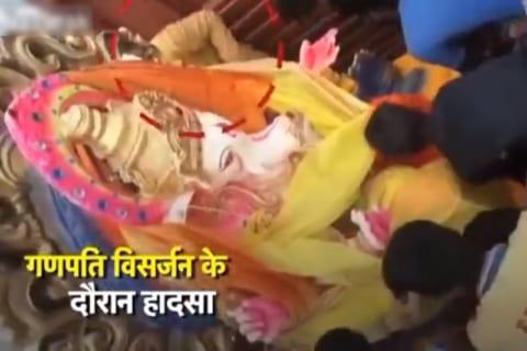 【閲覧注意】インドの宗教儀式、3か所で9人が死亡する異常事態。もはや神などいないのでは?