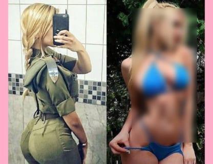 【驚愕】イスラエルの美人女性兵士、脱いだら凄いおっぱいしてた…(画像あり)
