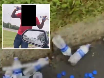 【危険】路上の乞食が販売してる「水」買った結果・・・・・