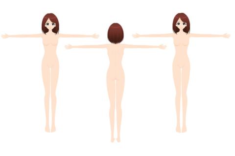 【超!閲覧注意】3人の全裸女性が並べられた。これから何が始まるか(画像あり)