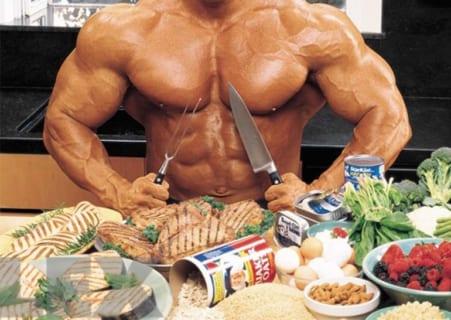【驚愕】海外のボディビルダーが食う飯の量wwwwwwww