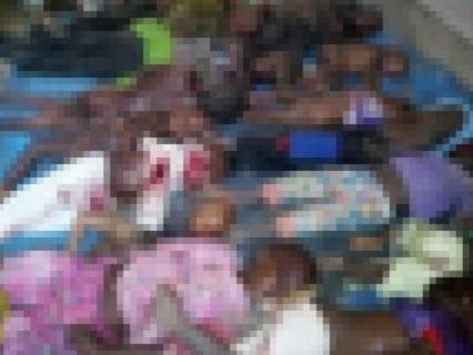"""【閲覧注意】""""ヤバい部族"""" 、村を襲い子供たち20人をこうする(画像あり)"""