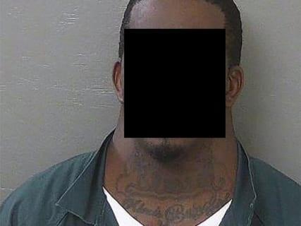 【衝撃画像】アメリカで6日前に逮捕された男。「誰も喧嘩勝てなそう」だと話題に