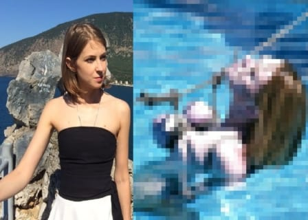 【闇深】美女の「プライベート画像」と「レ●プ・拷問中」を並べた画像が怖すぎる