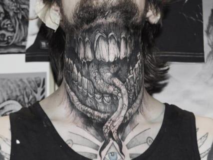 【画像】「3Dタトゥー」がガチでカッコ良すぎると話題に!!これは凄ぇえええええ