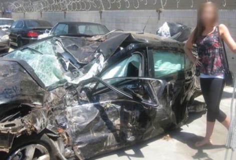【衝撃映像】女性ドライバー、こんな風に人を殺してしまう・・・・・