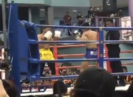 【動画】ムエタイの選手とMMA(総合格闘家)が異種格闘技戦をやった結果… たった10秒で…