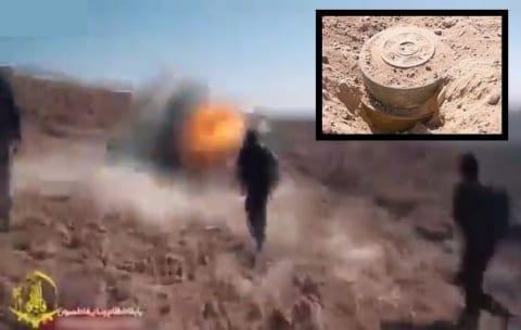 【瞬間映像】地雷を踏んだ人間はこうやって死ぬらしい・・・(2019/2/7 撮影)