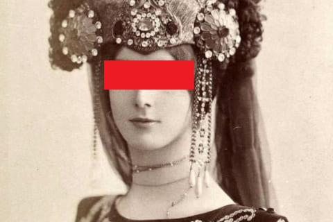 【激レア】100年前最も美しかった女性「クレオ・ド・メロード」の写真が美しすぎる