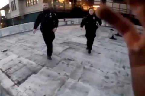 """【動画】パルクールの """"プロ"""" が警察に見つかった時の逃げ方がカッコ良すぎると話題に!"""