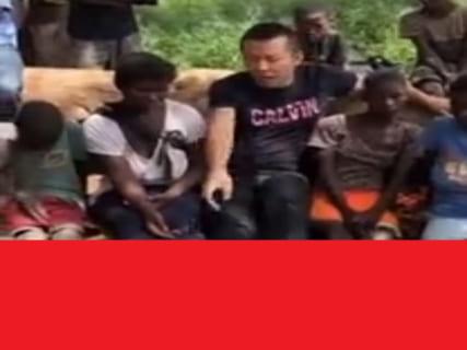 【閲覧注意】中国人さん、アフリカの村で子供たち7人の「足」を見て衝撃を受ける(動画)