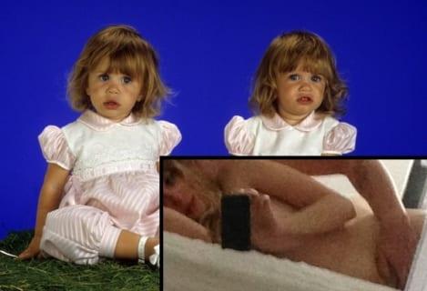 【画像】「フルハウス」ミシェル役の妹、衝撃のセ○クス画像流出・・・・・