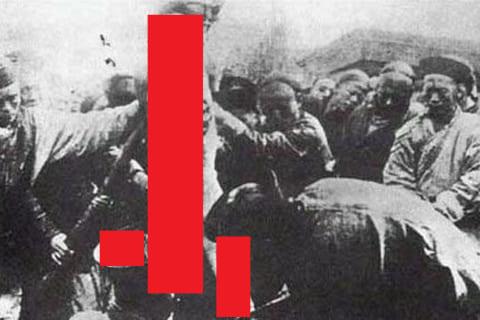 """【超!閲覧注意】伝説の動画。最も恐ろしい拷問 """"凌遅刑"""" はこんな光景だった"""