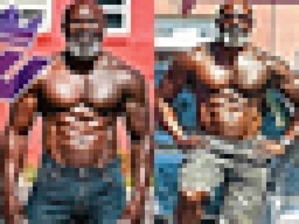 【驚愕】アメリカの50歳おじさんの体がヤバイ。これ勝てる奴いないだろ…