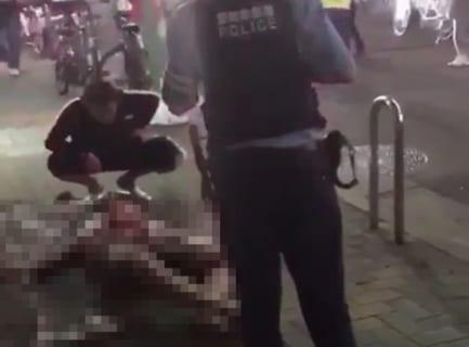 【閲覧注意】25日、名古屋市の殺人事件、無修正動画がキチガイレベル