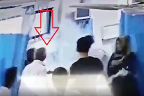 【超恐怖】毒を飲み病院に運ばれた女性の頭が爆発。胃洗浄のための食塩水に反応し…(動画)